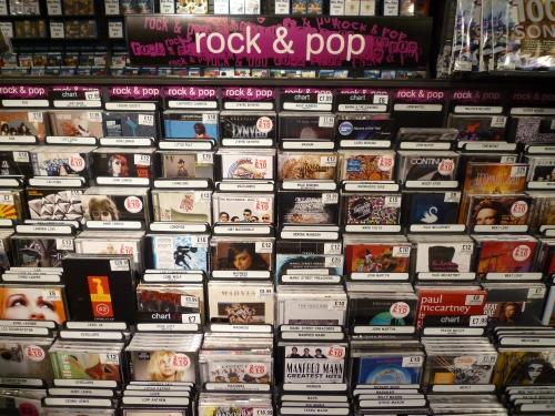 Rock & Pop 分类下的CD,如果是碟迷的话,看到这些该眼直了吧