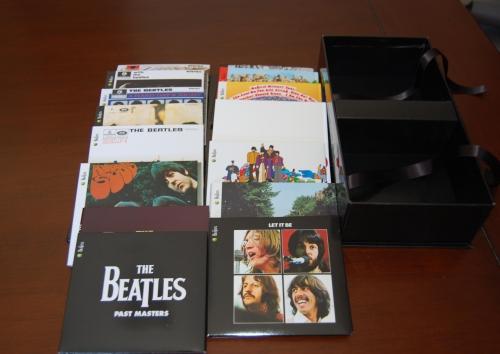 大盒子里面的全部CD