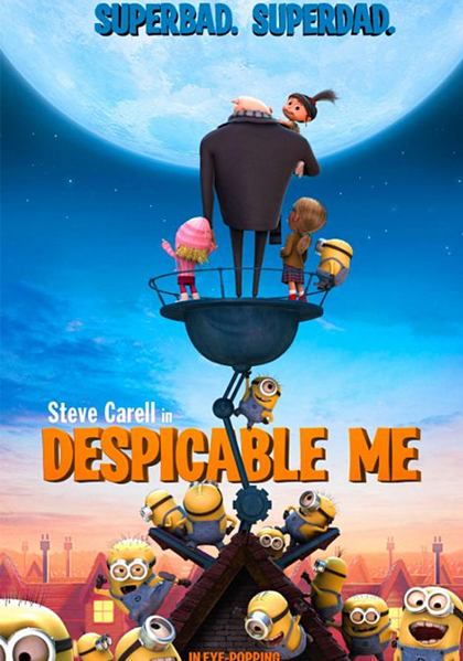 《Despicable Me》电影海报