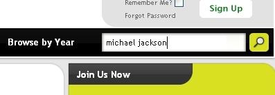 输入Michael Jackson